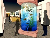 Aquarium posted in H2O by Rudy Rosen