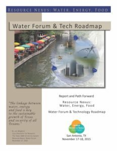 Report of Texas Water Forum II by Rudolph Rosen