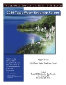 The Report of Water Forum III by Rudolph Rosen